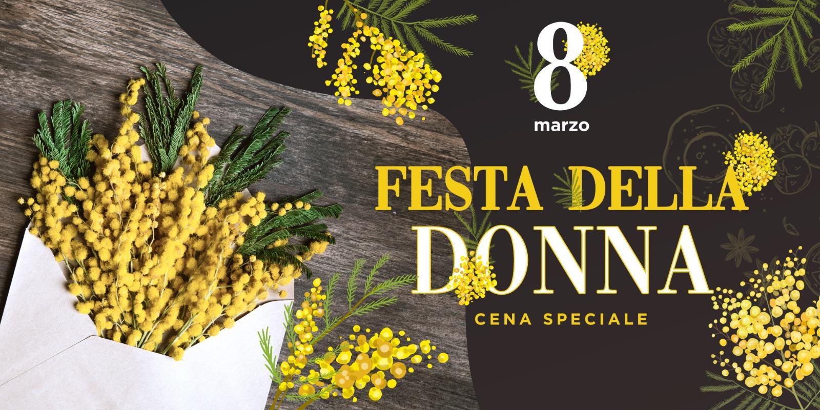 Festa della Donna 2020 a Parma Sconto Droplet 15% Musica in sottofondo e Menu alla Carta in Ristorante Pizzeria Luna Blu